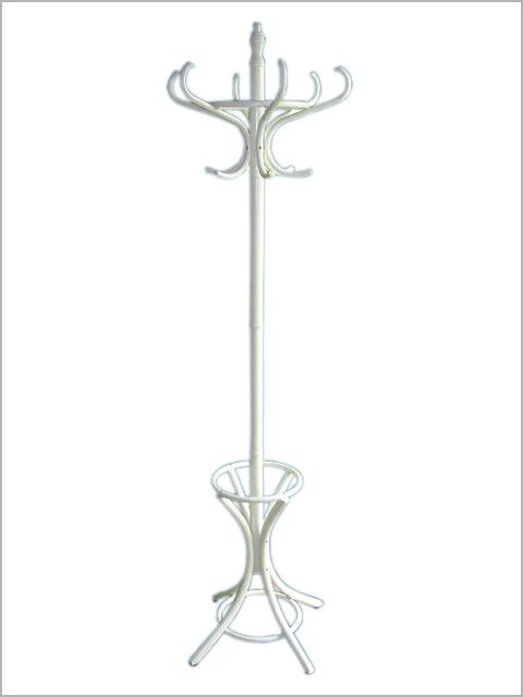 luxus holz kleiderst nder garderobenst nder wei 1120 ebay. Black Bedroom Furniture Sets. Home Design Ideas