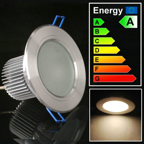 3\5\7\9\12\15W LED Downlight Lamp Ceiling Bulbs Warmweiß Frosted Glass N00020
