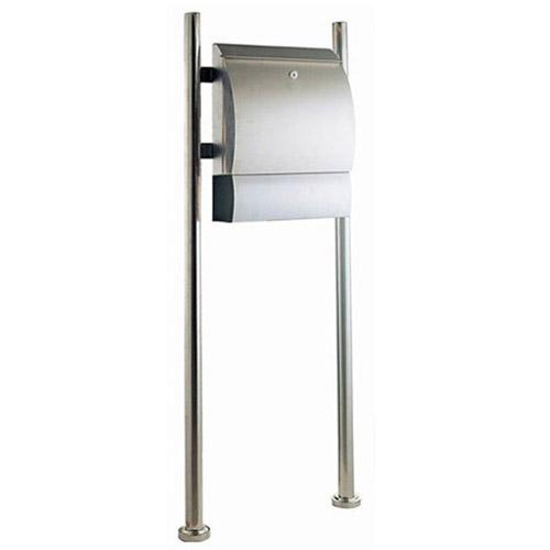 Briefkasten Stand postkasten briefkästen stand briefkasten edelstahl mailbox 15057 ebay