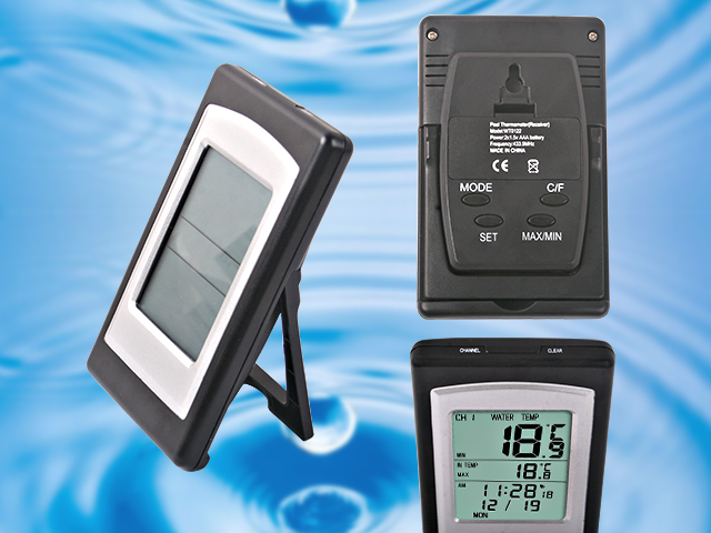 Funk poolthermometer schwimmbad thermometer 120230 for Schwimmbadthermometer