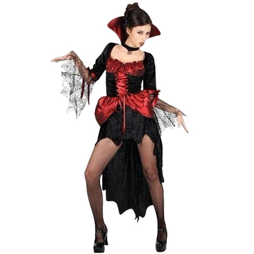 damen vampir kost m fledermaus gothic fasching karneval halloween 12102h ebay. Black Bedroom Furniture Sets. Home Design Ideas
