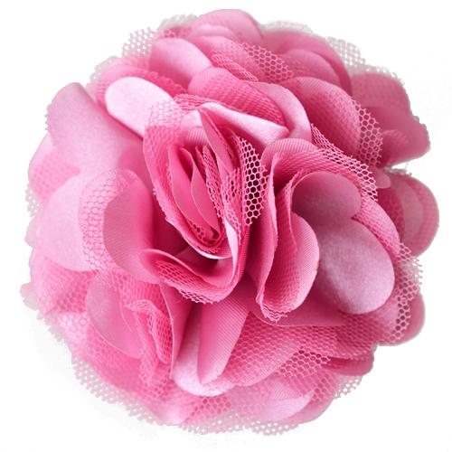 21 Farben Kopfblumen Haarblume Ansteckblume Haarblüte Spange Anstecknadel