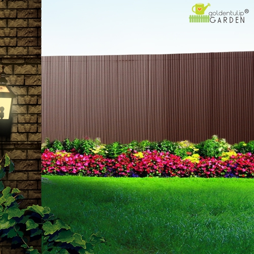 pvc sichtschutzzaun sichtschutz sichtschutzmatte f garten. Black Bedroom Furniture Sets. Home Design Ideas