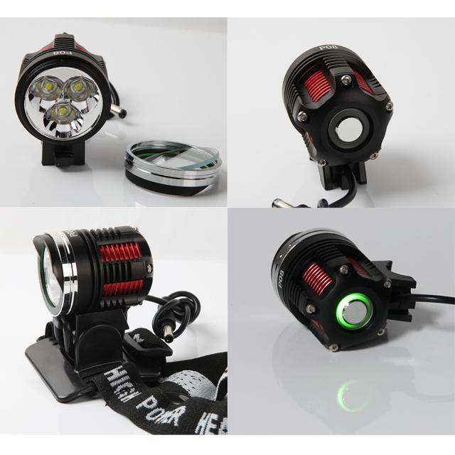 led stirnlampe fahrradlampe 3 cree xm l l2 upgraded t6 u2. Black Bedroom Furniture Sets. Home Design Ideas