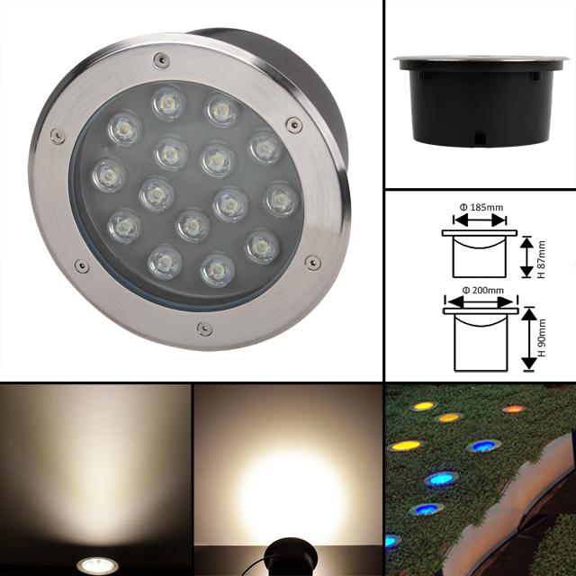 top led bodeneinbaustrahler einbaustrahler 230v. Black Bedroom Furniture Sets. Home Design Ideas