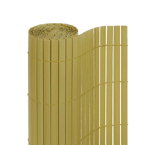 pvc sichtschutzzaun sichtschutz sichtschutzmatte f garten terrasse balkon bambus ebay. Black Bedroom Furniture Sets. Home Design Ideas