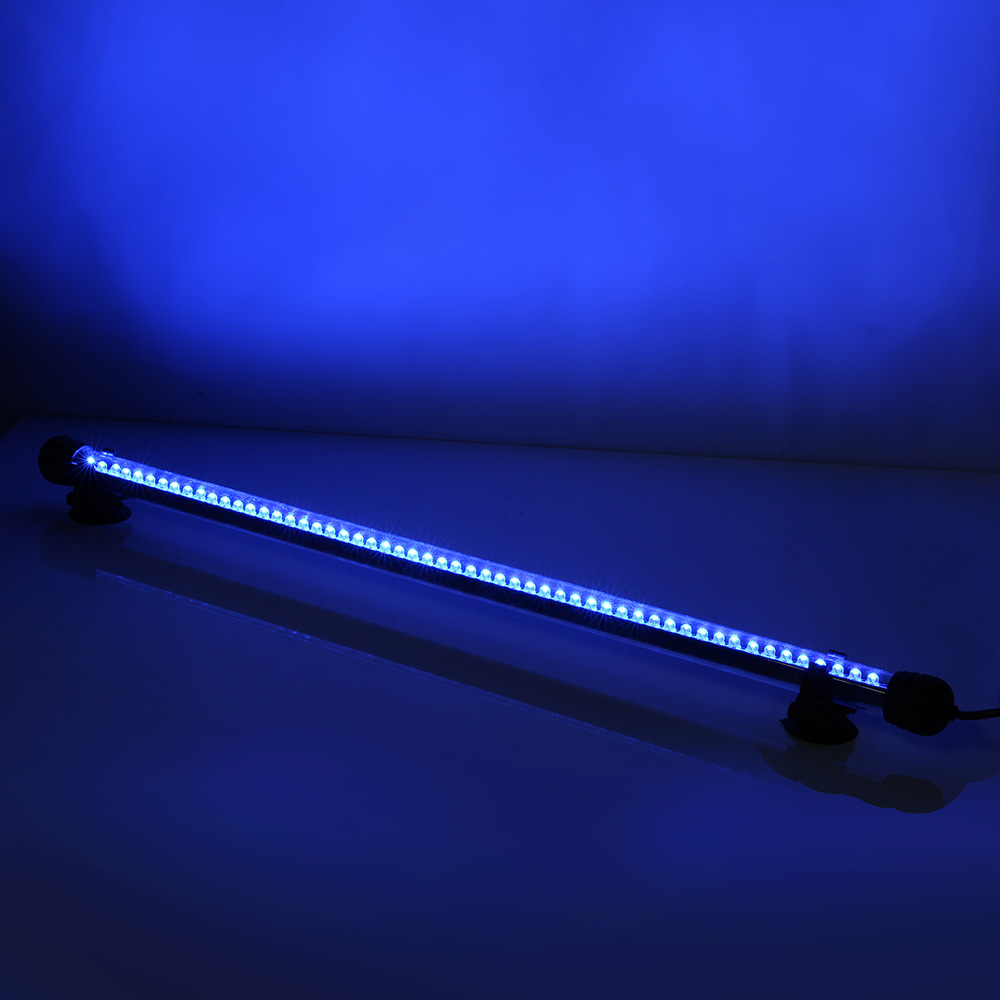 aquarium mondlicht led lampe wasserdicht aquarium beleuchtung 50cm wei blau ebay. Black Bedroom Furniture Sets. Home Design Ideas