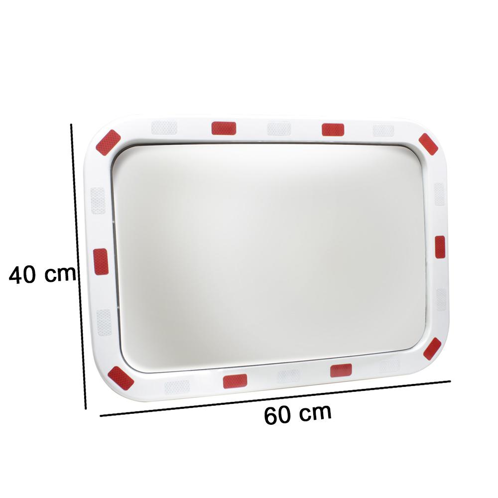 Verkehrsspiegel spiegel 60x40 80x60cm sicherheitsspiegel for Fenster 60x40