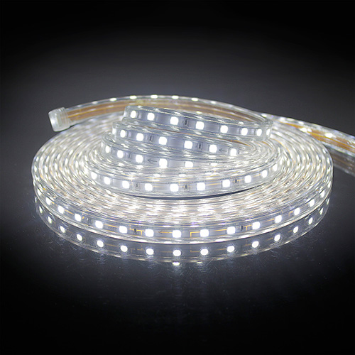 230v led strip streifen leiste lichterkette 60 leds m warmwei kaltwei ip65 ebay. Black Bedroom Furniture Sets. Home Design Ideas