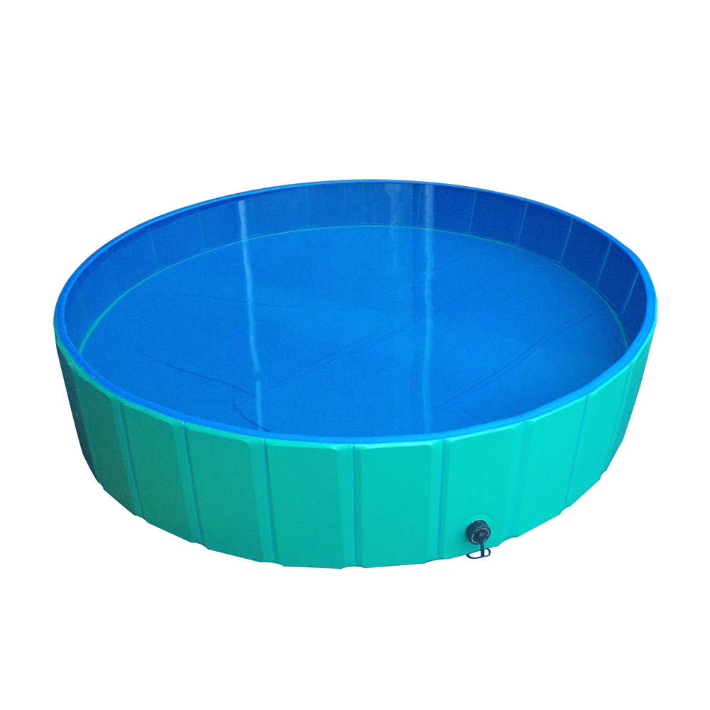 doggy pool hundepool faltbar swimmingpool f r hunde 80 120 160 cm ebay. Black Bedroom Furniture Sets. Home Design Ideas