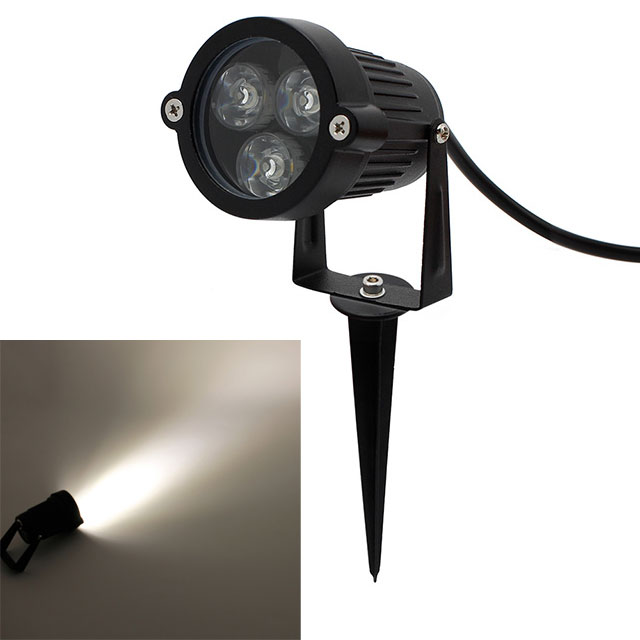 12v dc 3w led strahler scheinwerfer fluter spot. Black Bedroom Furniture Sets. Home Design Ideas