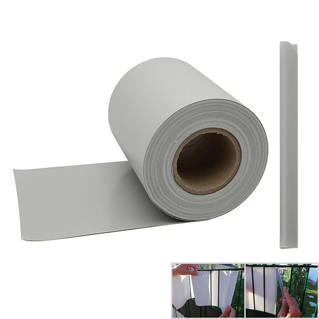 Pvc Sichtschutz Doppelstabmatten : PVCSichtschutzStreifenZaunblendeFolieDoppelstabmattenZaun