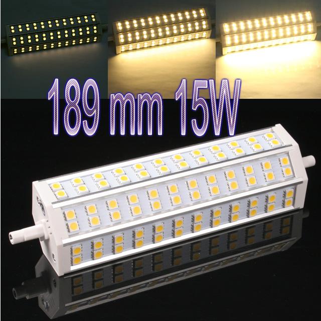 led lampe r7s j 78 118 189mm 5 10 15w smd strahler warm. Black Bedroom Furniture Sets. Home Design Ideas