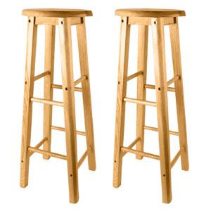 1 x massiv st hle holz barhocker barstuhl stuhl hocker for Barhocker holz massiv