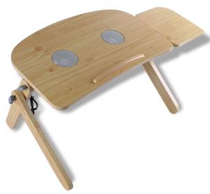 lesetisch tisch mit k hler l fter laptop notebook 22253 ebay. Black Bedroom Furniture Sets. Home Design Ideas
