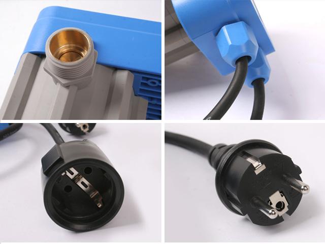 neu pumpensteuerung druckschalter presscontrol pumpe mit stromkabel ns1919 ebay. Black Bedroom Furniture Sets. Home Design Ideas