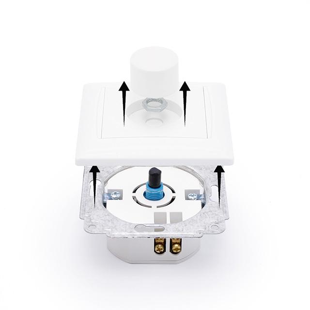 dimmer f r led lampen 230v ac stufenloser unterputz helligkeitsregler frankfurt oder. Black Bedroom Furniture Sets. Home Design Ideas